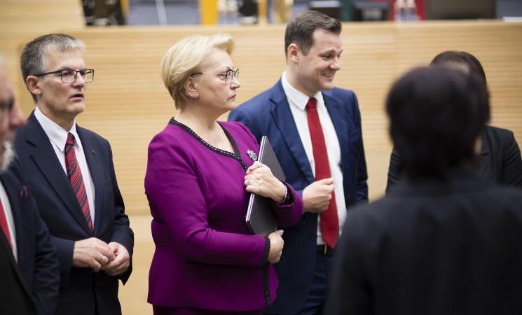"""Socialdemokratai: """"Valstiečių-žaliųjų"""" partijai metas keisti pavadinimą"""