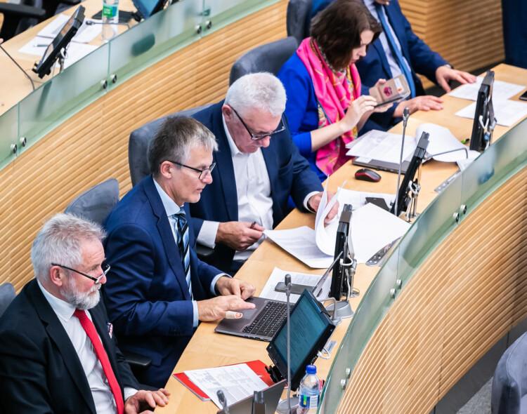 Socialdemokratai balsavime dėl V. Pranckiečio nedalyvaus: postų dalybos – valdančiųjų reikalas